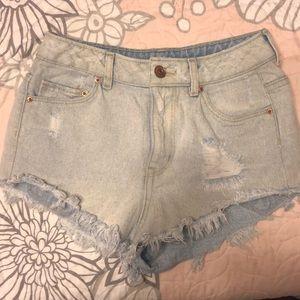 H&M Divided denim shorts size 2